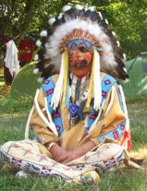 Initiations chamaniques avec Loup Blanc Chaman - Chamanisme de l'Origine