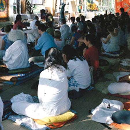 Chamanisme de l'origine méditation en salle