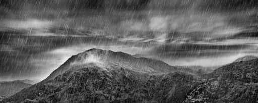 Loup Blanc Chaman appelle la pluie