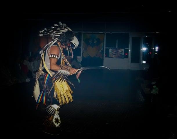 Danse Condor Chamanisme Loup Blanc