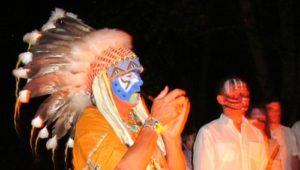 Prières aux ancêtres Loup Blanc Chaman